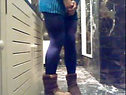 Pee In Shorts And Pantyhose