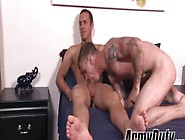 Cute Tattooed Ryan Jordan Gets Ass Smashed By Tyler Marshall