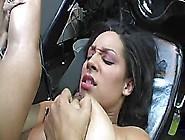 Jazmine Cashmere Enjoys Hot Interracial Sex!