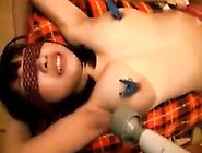 Asian Hottie Is Tied Up And Tortured,  Then Gives Him A Blow