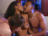 Natural Tit Black Chick In Threesome
