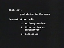 Nancy Vee - Anal Demonstrative