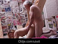 Old And Teen Enjoys Rimming And Passionate Sex