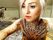 Sexy Tattooed Cam Slut