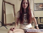 Lelu Love-Webcam: Stripping Twerking Sybian Riding Fingering
