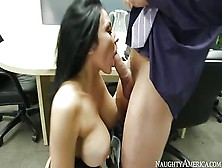Naughty Office: Audrey Bitoni