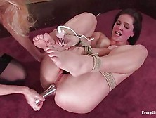 Hot Ass Bobbi Starr Has Her Ass Abused With Several Large Toys B