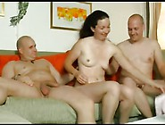 Teen 41 Shy Brunette German Teen In Threesome