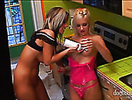 Two Busty Housewives Fondle Each Other Behind The Scene Sex Vide