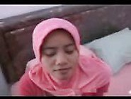 Indonesian Girl - Hijab Milf With White Man