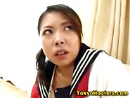 Naughty Oriental School Girl With Big Juggs