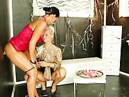 Candy Blonde Inside Bukakke Party At A Gloryhole