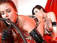 Kinky Lesbians Use All Kinds Of Toys As They Get Crazy