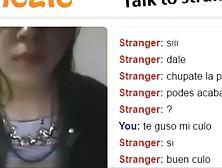 Puta Argentina Mostrando Tetas En Omegle