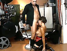 Turned On Hunk Omar Galanti Takes His Large And Fat Hard Dick Ou