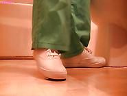 Keds Sneaker Shoeplay In The Bathroom Full Vid