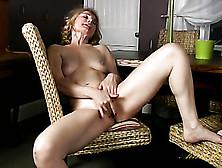 Stripping Mature Babe Masturbates Her Gorgeous Cunt