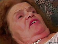 Blonde Granny Is Sucking Dicks Like A Pro And Expecting A Good F