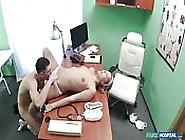 Blonde Nurse In Fake Hospital