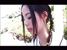 Very Cute Japan Teens Blow A Monster Black Cock