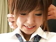 Pretty Japanese Gal Miku Airi Can't Get Enough Of Her Vibrator