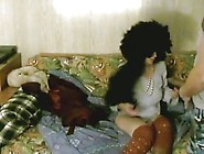 Big Black Hair White Girl Fucked By Masked Man Big Dildo