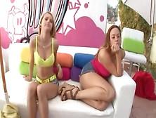 Jessie & Chanel's Anal Fun!