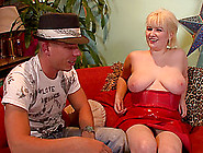 Chubby Blonde With Huge Natural Tits Enjoying A Hardcore Fuck