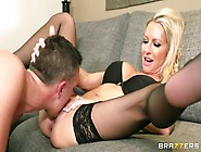 Enticing Blonde Uk Mom Emma Starr