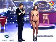 Andrea Rincon - Bailando 2012 - Stripdance
