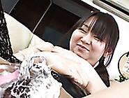 Perverted Dude Shaved Hairy Pussy Of Cute Japanese Gal Morita Ku
