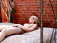 Erotic Lady Uses Toy To Masturbate