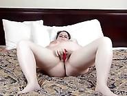 Pregnant Chubby Lisa Masturbates Hairy Snatch