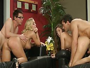 The Rookie Swingers Madelyn Marie And Nicole Aniston Having Thei