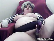 Mature And Horny Bbw Masturbates Video