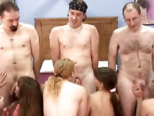 Huge Amateur Group Orgy