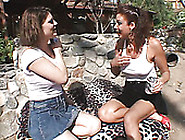 Horny Dykes Kayla Quinn And Vanessa Videl Strip Outdoor And Fuck