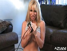 Angie Tries Her Sybian Again