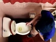 Men Masturbation Pissing Gay Unloading In The Toilet Bowl