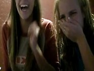 Two Sexy Teen Girls Reacting To Cake Farts Video