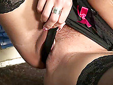 Solo Clip With Blonde Slut Vera Drilling Her Pussy With A Dildo