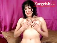 A Hairy Holed Milf Spreads Her Muff Wide Open Video