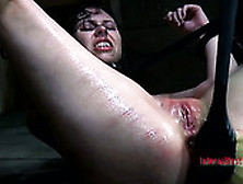 Insane Bdsm Session Of Submissive Slave Girl Kristine Andrews