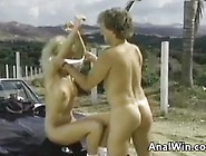 Anal On A Car Hood Classic