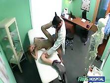 Attractive Blonde Fucked In Hospital