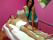 Hidden Camera At Massage Parlour Films Full Service