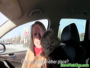 Busty European Pickedup In Public And Pussyfucked