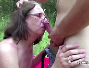 Young Boy Seduce 73Yr Old Granny To Fuck And Facial
