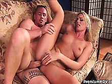 Long Legs Blonde Milf Darryl Hanah Gives Out All Her Holes