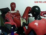 Rubber Doll Got Ass Fisted And Fucked By Large Dildos Part 2